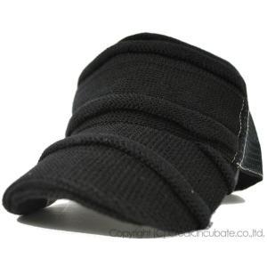 大きいサイズ 帽子 レディース メンズ 男女兼用 キャップ ヘンプロール    オールブラック ビッグワッチ|creak-net