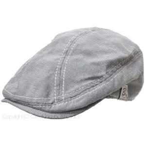 大きいサイズ 帽子 ハンチング ビッグワッチ帽子 レディース メンズ ハンチング  ライトグレー ルーズ|creak-net