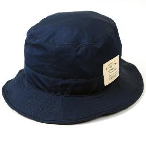 大きいサイズ 帽子 L XL 撥水加工 ハット  メンズ ウォータープルーフ ハット BIGWATCH ネイビー WPHA-02