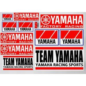 TEAM YAMAHA YAMAHA RACING SPORTS ヤマハレーシング 旧ロゴ オールド...