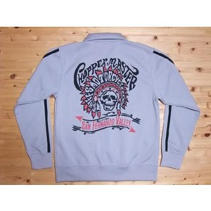 MWS[エムダブルエス] ジャージ CHIEFS MOTORCYCLE CLUB ZIP JERSEY (SILVER)|cream05