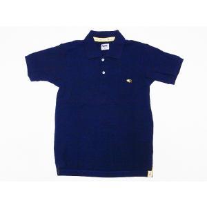 Pherrow's[フェローズ] ポロシャツ 18S-PPS1 鹿の子 ポロ 無地 (ネイビー) cream05