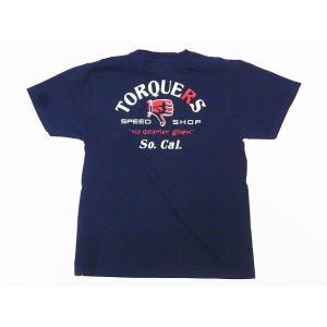 Pherrow's[フェローズ] Tシャツ 19S-PT13 TORQUERS (S.ブラック)|cream05