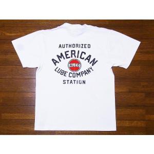 Pherrow's[フェローズ] Tシャツ 19S-PT17 ALCO (ホワイト)|cream05