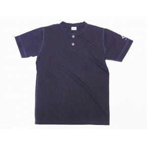 Two Moon[トゥームーン] Tシャツ ヘンリーネックTシャツ 24223 ヘンリーTee (チャコール)|cream05