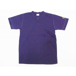 Two Moon[トゥームーン] Tシャツ ヘンリーネックTシャツ 24223 ヘンリーTee (ダークネイビー)|cream05