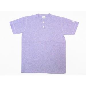 Two Moon[トゥームーン] Tシャツ ヘンリーネックTシャツ 24223 ヘンリーTee (杢グレー)|cream05