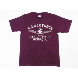 DUBBLE WORKS[ダブルワークス] Tシャツ DANIEL FIELD 29133005-04 (バーガンディー)|cream05