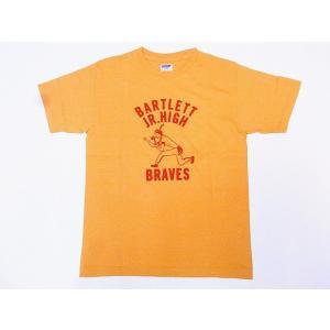 DUBBLE WORKS[ダブルワークス] Tシャツ BARTLETT 29133005-06 (オーカー)|cream05