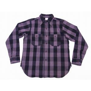 WAREHOUSE[ウエアハウス] ネルシャツ A柄 3104 フランネルシャツ FLANNEL SHIRTS バッファローチェック (グレー)|cream05