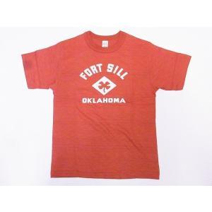 WAREHOUSE[ウエアハウス] Tシャツ FORT SILL 4601 (サーモン)|cream05