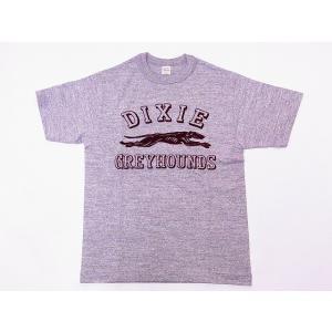 WAREHOUSE[ウエアハウス] Tシャツ GREYHOUNDS 4601 (杢グレー)|cream05