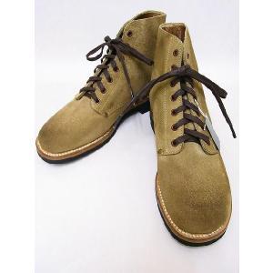 Buzz Rickson's[バズリクソンズ] ブーツ BR02610 サービスシューズ M-43 SERVICE SHOES (SAND)|cream05