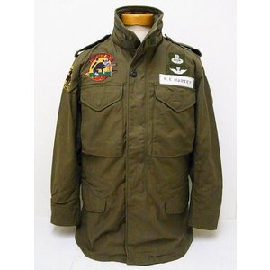 Buzz Rickson's[バズリクソンズ] M-65 フィールドジャケット 282nd ASLT.HLCPT.CO.3rd PLTN. BR13111 (OLIVE DRAB)|cream05