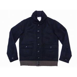 Buzz Rickson's[バズリクソンズ] ブラック ウールジャケット BR13315 JACKET WOOL BLACK (BLACK)|cream05