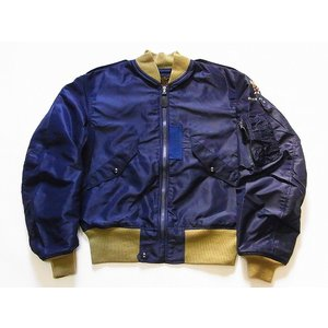 Buzz Rickson's[バズリクソンズ] L-2A グリーンリブ BR14130 SUPERIOR TOGS CORP. (A.F.BLUE)|cream05