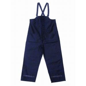 Buzz Rickson's[バズリクソンズ] デッキパンツ ジャングルクロス BR41760 JUNGLE CLOTH DECK PANTS CIVILIAN MODEL (ネイビー/NON-WASH)|cream05