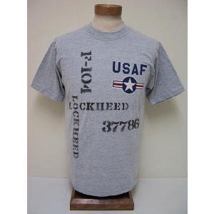 Buzz Rickson's[バズリクソンズ] Tシャツ SKUNK WORKS USAF F-10...