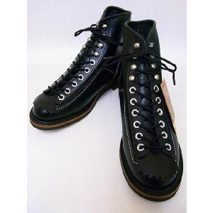 LONE WOLF[ロンウルフ] ブーツ CARPENTER カーペンター F01615 (BLACK)|cream05