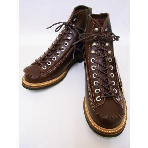 LONE WOLF[ロンウルフ] ブーツ CARPENTER カーペンター F01615 (BROWN)|cream05