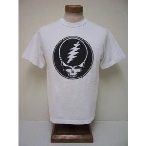 BLUE BUCK[ブルーバック] Tシャツ グレートフルデッド GDHS10-04 (WHITE)|cream05