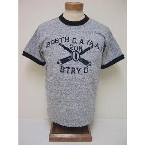 BLUE BUCK[ブルーバック] Tシャツ 88/12 208TH HSOR81A5 (H.GRAY)|cream05
