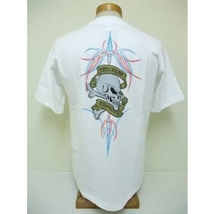 INDIAN MOTORCYCLE[インディアンモーターサイクル] Tシャツ TERRY'S CYCLE SHOP (WHITE) cream05