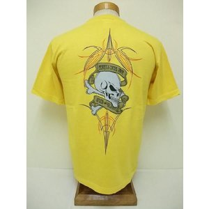 INDIAN MOTORCYCLE[インディアンモーターサイクル] Tシャツ TERRY'S CYCLE SHOP (YELLOW) cream05