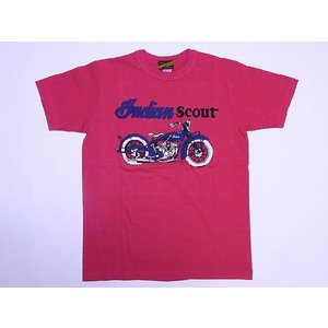 INDIAN MOTORCYCLE[インディアンモーターサイクル] Tシャツ INDIAN SCOUT IM75435 (RED) cream05