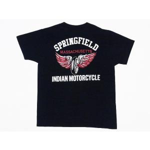INDIAN MOTORCYCLE[インディアンモーターサイクル] Tシャツ FLYING WHEEL IM77063 (BLACK) cream05