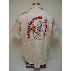 King Louie[キングルイ] ボウリングシャツ IT STRIKES (OFF WHITE) cream05