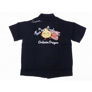 King Louie[キングルイ] ボウリングシャツ KL37599 ONION BOY ボーリングシャツ 40's STYLE (ブラック) cream05