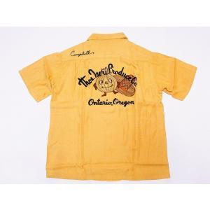 King Louie[キングルイ] ボウリングシャツ KL37599 ONION BOY ボーリングシャツ 40's STYLE (イエロー) cream05