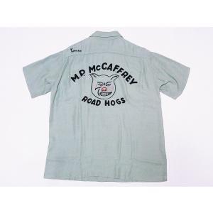 King Louie[キングルイ] ボウリングシャツ KL37832 ROAD HOGS ボーリングシャツ 40's STYLE (ミントグリーン) cream05