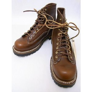 LONE WOLF[ロンウルフ] ブーツ LOGGER ロガー LW00125 (BROWN)|cream05