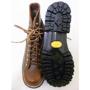 LONE WOLF[ロンウルフ] ブーツ LOGGER ロガー LW00125 (BROWN)|cream05|03