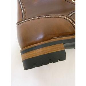 LONE WOLF[ロンウルフ] ブーツ LOGGER ロガー LW00125 (BROWN)|cream05|06