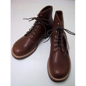 LONE WOLF[ロンウルフ] ブーツ MECHANIC メカニック LW00450 (BROWN)|cream05