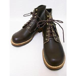 LONE WOLF[ロンウルフ] ブーツ MECHANIC メカニック LW00450 (D.BROWN)|cream05