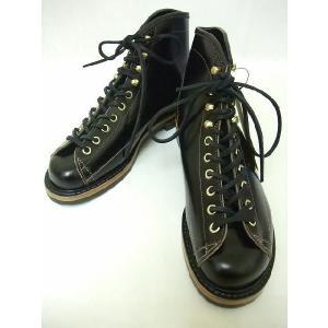 LONE WOLF[ロンウルフ] ブーツ WIREMAN ワイヤーマン LW01785 (BLACK)|cream05