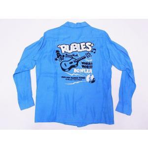 STYLE EYES[スタイルアイズ]×Mookie Sato[ムーキーサトウ] オープンシャツ SE27720 RUBLES 長袖 RAYON OPEN SHIRT (ブルー) cream05