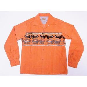 STYLE EYES[スタイルアイズ] オープンシャツ DEVIL DOG SE27723 長袖 CORDUROY SPORTS SHIRT (ピンク)|cream05