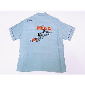STYLE EYES[スタイルアイズ] ボウリングシャツ SE37799 HELICOPTER BOY ボーリングシャツ (ミントグリーン) cream05