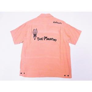 STYLE EYES[スタイルアイズ] ボウリングシャツ SE37800 THE MANTIKI ボーリングシャツ (ピンク)|cream05