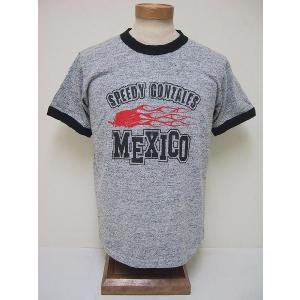 BLUE BUCK[ブルーバック] Tシャツ 88/12 スピーディーゴンザレス MEXICO SGHS81T05 (H.GRAY)|cream05