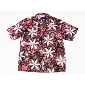 STAR OF HOLLYWOOD[スターオブハリウッド] オープンシャツ BLUE HAWAII SH38118 半袖 オープンカラーシャツ (ブラック) cream05