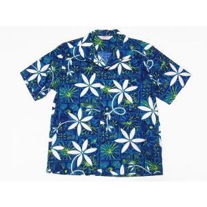 STAR OF HOLLYWOOD[スターオブハリウッド] オープンシャツ BLUE HAWAII SH38118 半袖 オープンカラーシャツ (グリーン) cream05
