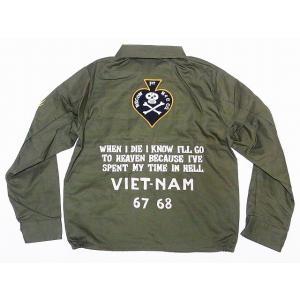 テーラー東洋[東洋エンタープライズ] ベトジャン TT14343 1ST RECON H&C CO. ベトナムジャンパー COTTON VIETNAM JACKET (オリーブ)|cream05