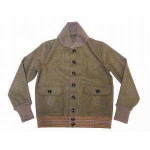 WAREHOUSE[ウエアハウス] A-1 スタイル ウールジャケット 2126 A-1 STYLE WOOL JACKET (ODグリーン)|cream05