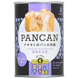 パン・アキモト 缶入りパンブルーベリー味 100g×6個